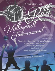 Volley Ball Tournament Flyer