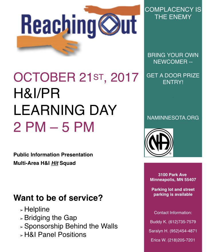 Service Learning Day Flyer