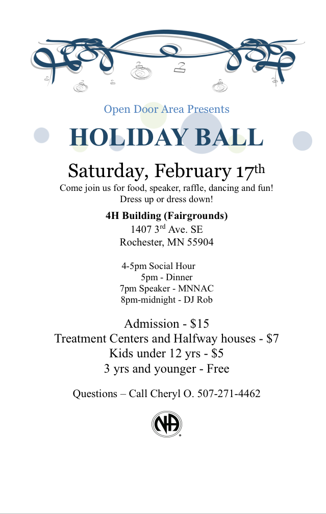 Holiday Ball Flyer