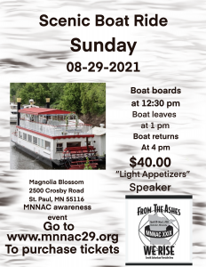 Boatride event flyer